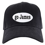 go James Black Cap