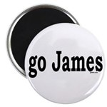 "go James 2.25"" Magnet (10 pack)"