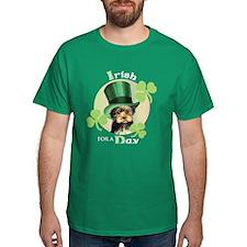 St. Patrick Yorkie T-Shirt