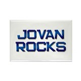 jovan rocks Rectangle Magnet