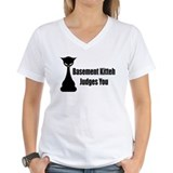 Basement Kitteh Judges You Shirt
