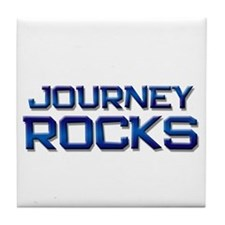 journey rocks Tile Coaster