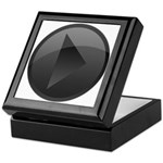 Play Button Keepsake Box