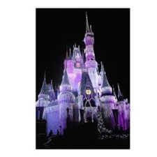 Unique Christmas light Postcards (Package of 8)