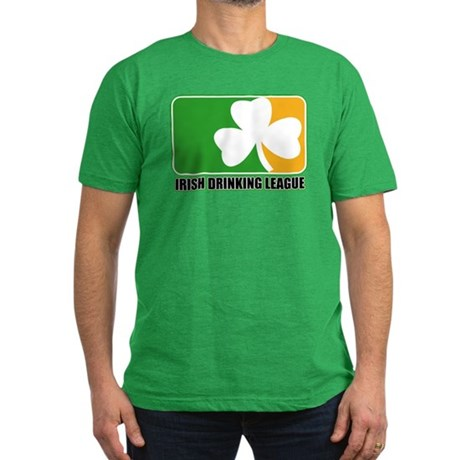 Irish Drinking League Men's Fitted T-Shirt (dark)