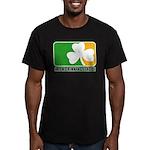 Irish Drinking League Men's Fitted T-Shirt (dark)