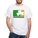 Irish Drinking League White T-Shirt