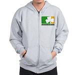 Irish Drinking League Zip Hoodie