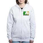 Irish Drinking League Women's Zip Hoodie