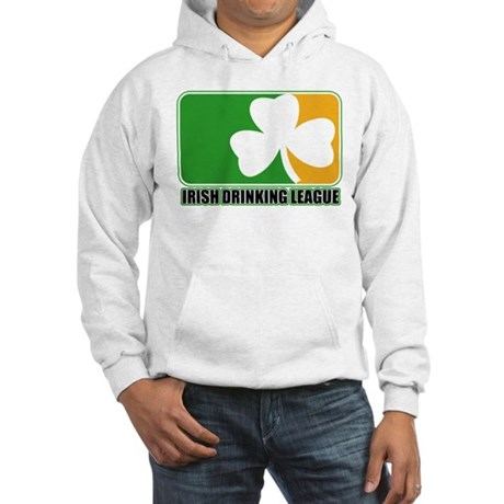Irish Drinking League Hooded Sweatshirt