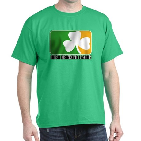 Irish Drinking League Dark T-Shirt