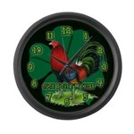 Cocksure I'm Irish! Large Wall Clock