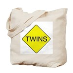 Twins Sign Tote Bag
