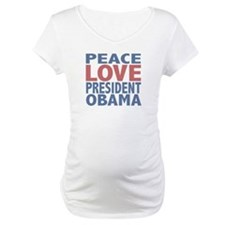 Peace Love President Obama Shirt