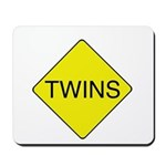 Twins Sign Mousepad