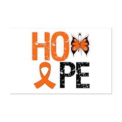 Leukemia Hope Mini Poster Print