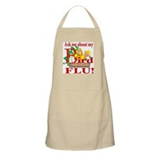 Ask Me About My Bird Flu BBQ Apron