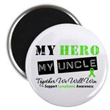 Lymphoma Hero Uncle Magnet