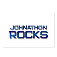 johnathon rocks Postcards (Package of 8)