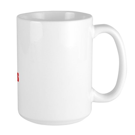 I Love [Present] Christmas Large Mug