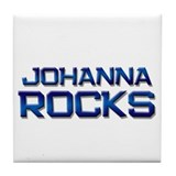 johanna rocks Tile Coaster
