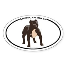 Bully!! Oval Decal