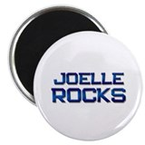 "joelle rocks 2.25"" Magnet (10 pack)"