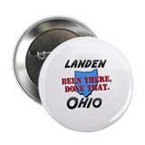 "landen ohio - been there, done that 2.25"" Button"