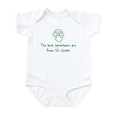 St Joseph leprechauns Infant Bodysuit