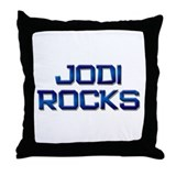 jodi rocks Throw Pillow