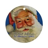 Personalized Santa Baby's First Christmas Ornament