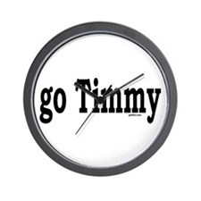 go Timmy Wall Clock