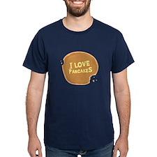 I Love Pancakes - T-Shirt