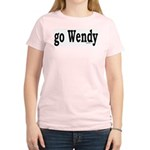 go Wendy Women's Pink T-Shirt