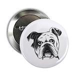 "English Bulldog 2.25"" Button"