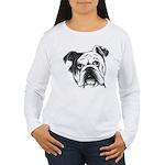 English Bulldog Women's Long Sleeve T-Shirt