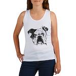 English Bulldog Women's Tank Top