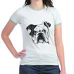English Bulldog Jr. Ringer T-Shirt