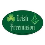The Irishman Oval Sticker