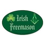 The Irishman Oval Sticker
