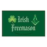 The Irishman Rectangle Sticker 10 pk)