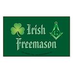 The Irishman Rectangle Sticker 50 pk)