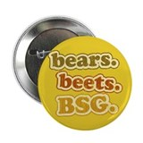 "bears. beets. BSG. 2.25"" Button"