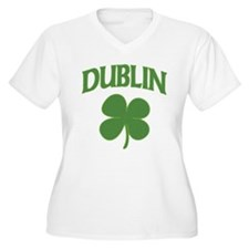 Dublin Irish Shamrock T-Shirt