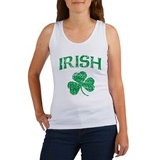Irish Shamrock Women's Tank Top