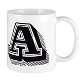 Letter A Mug