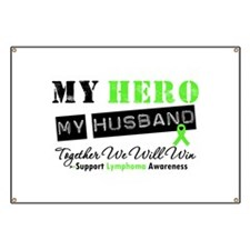 Lymphoma Hero Husband Banner