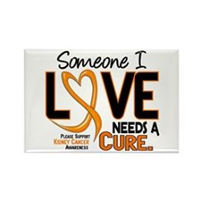 Needs A Cure 2 KIDNEY CANCER Rectangle Magnet (100