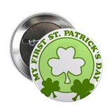 "My First St. Patrick's Day 2.25"" Button"