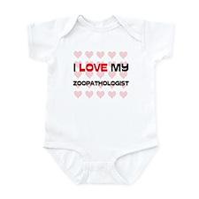 I Love My Zoopathologist Infant Bodysuit